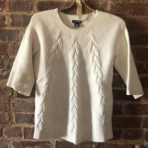 Club Monaco White Sweater